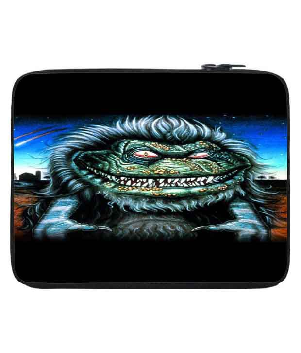 Snoogg Multi Color Polyester Laptop Sleeve