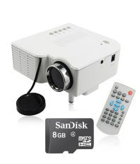 Unic UC28+ with 8GB Card LED Projector 320x240 Pixels