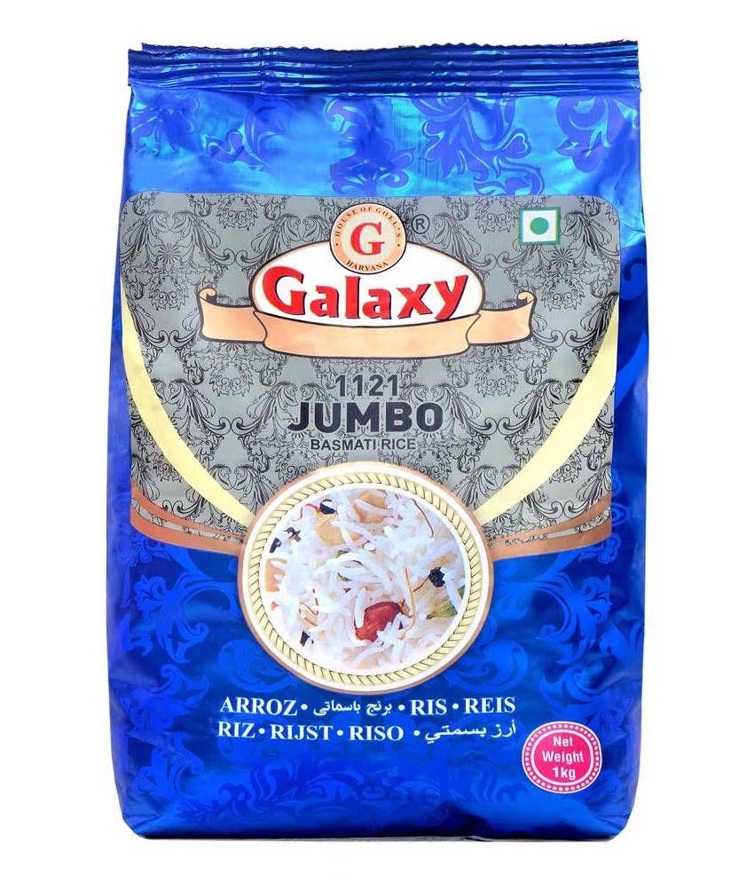 Galaxy 1121 Jumbo Basmati Rice  - 1 Kg