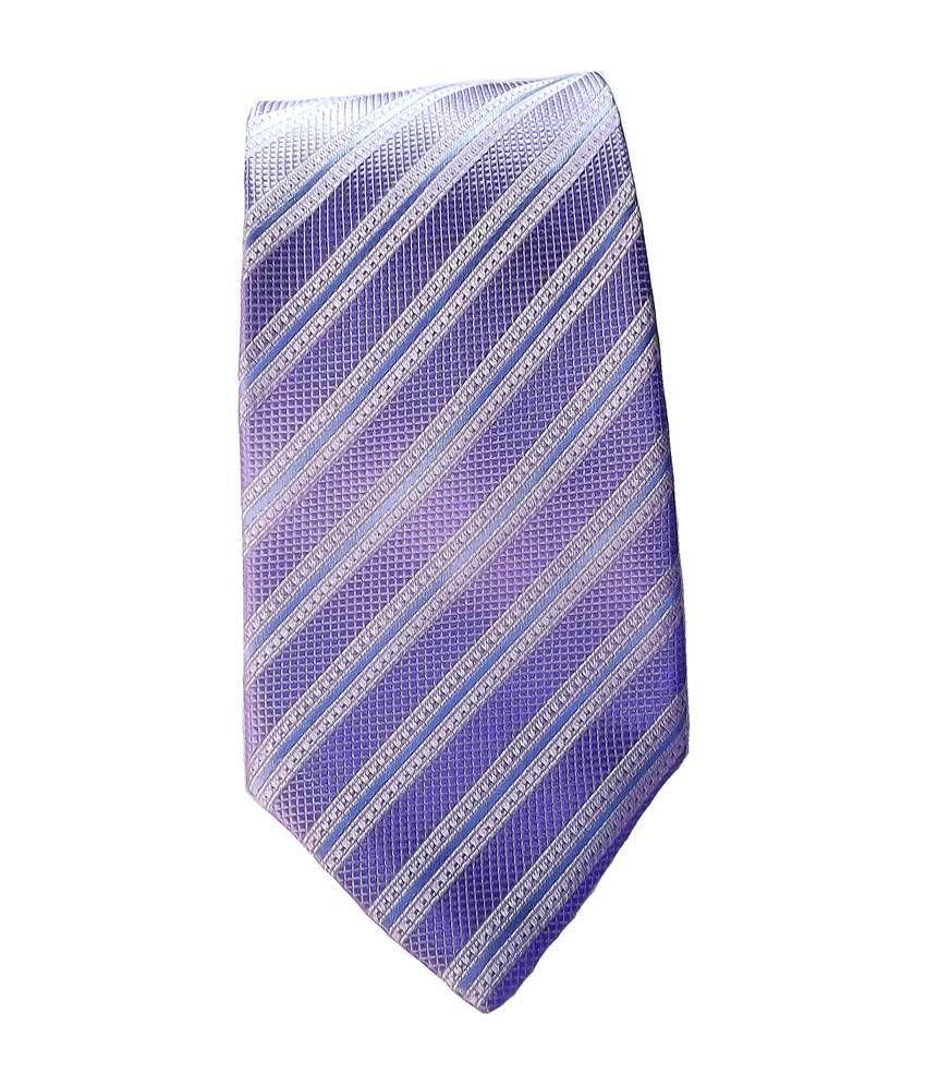 Mentiezi Purple Necktie for Men