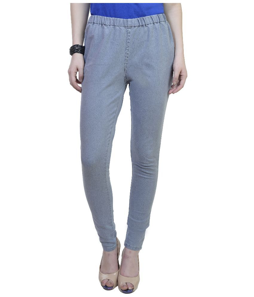 Urban Studio Gray Denim Jeggings