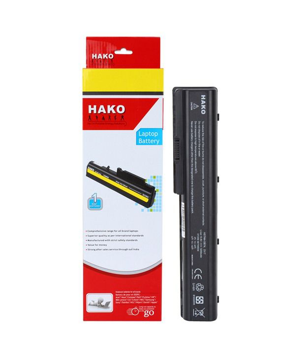 Hako HP Compaq Pavilion DV7-1010eg 6 Cell Laptop Battery