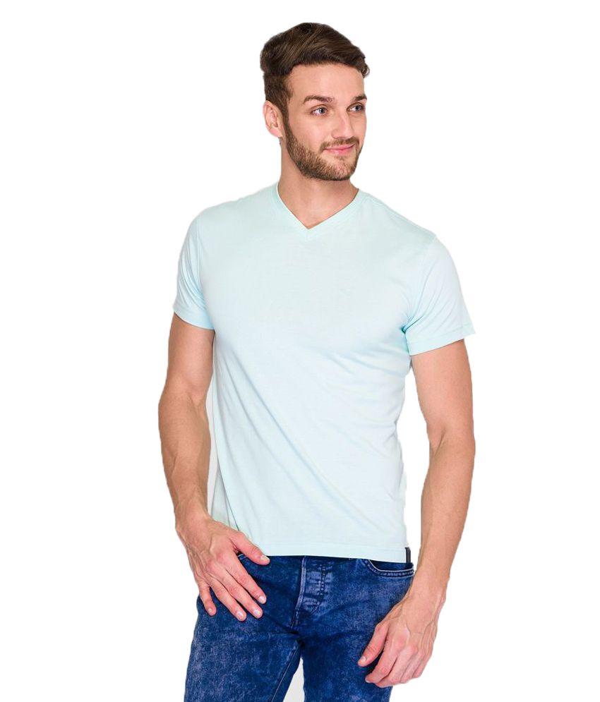 Park Avenue Blue V-Neck T Shirt
