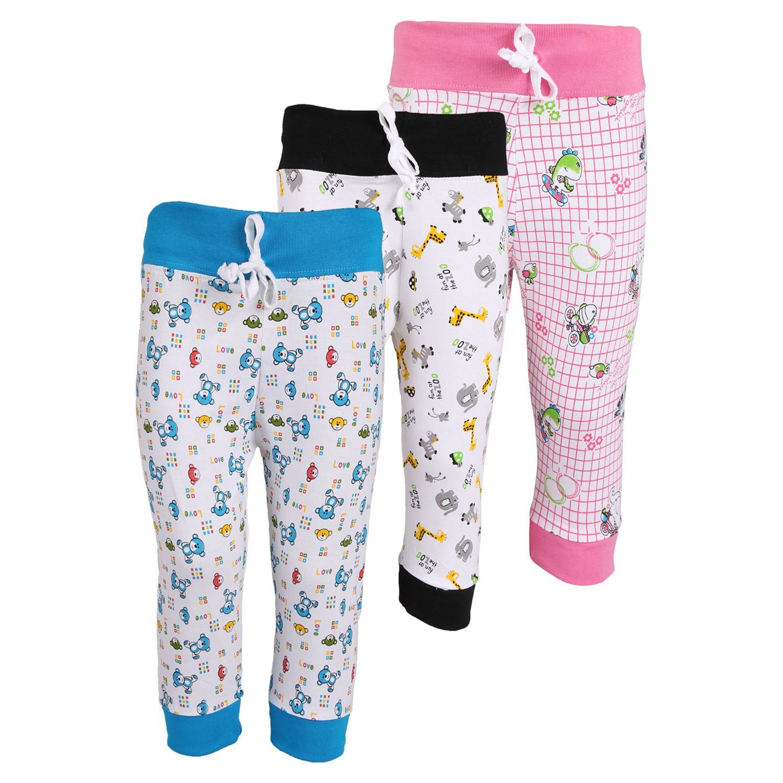 Weecare Multicolor Cotton Leggings - Set Of 3