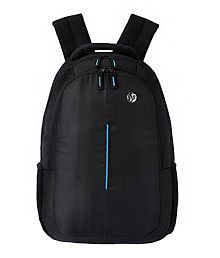 Black and Blue Laptop Bag Manufactured For HP Laptops