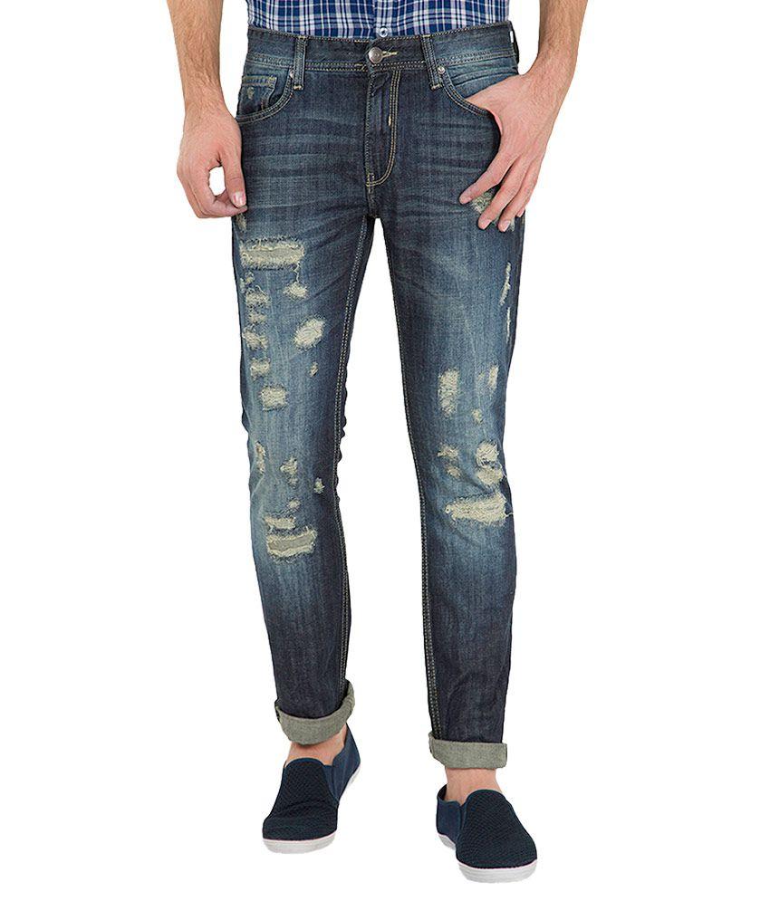 Locomotive Navy Slim Fit Jeans