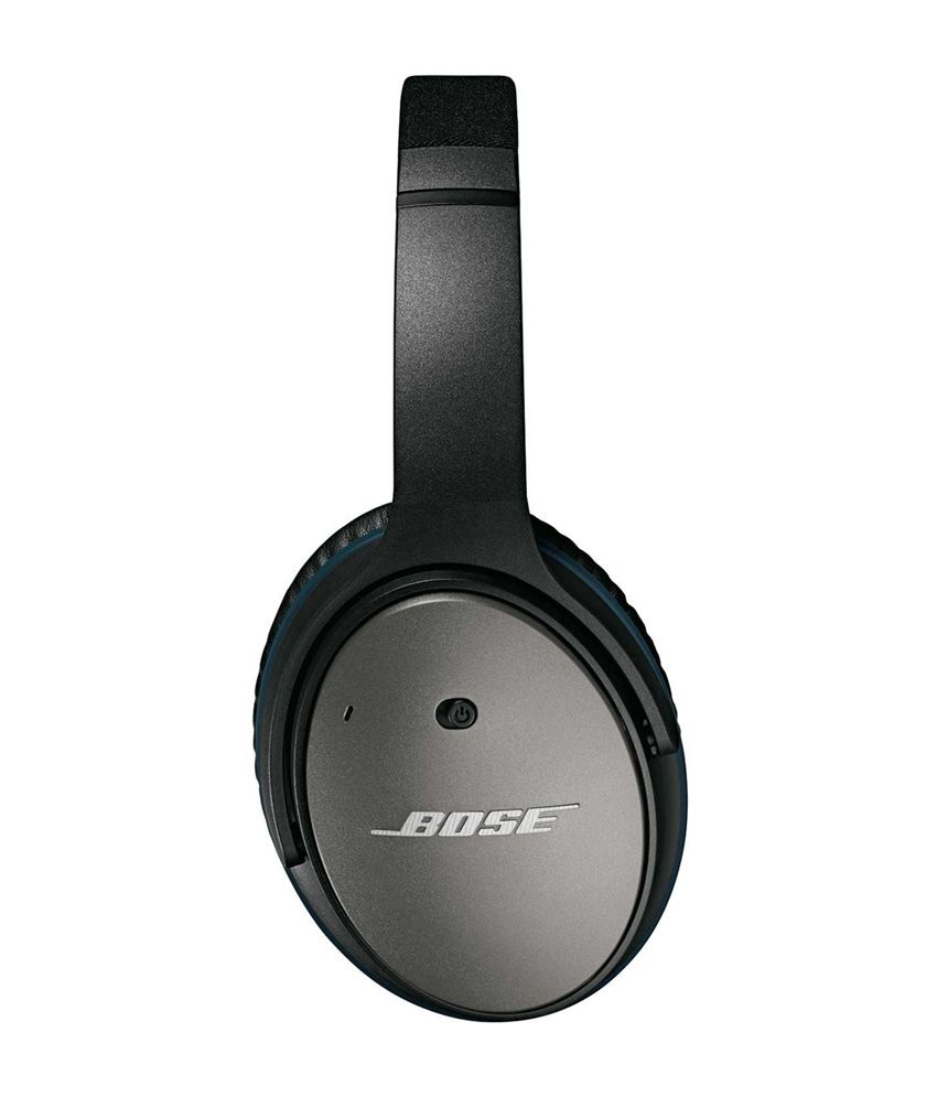 bose in ear noise cancelling headphones. bose quietcomfort 25 acoustic noise cancelling headphones - apple devices (black) in ear