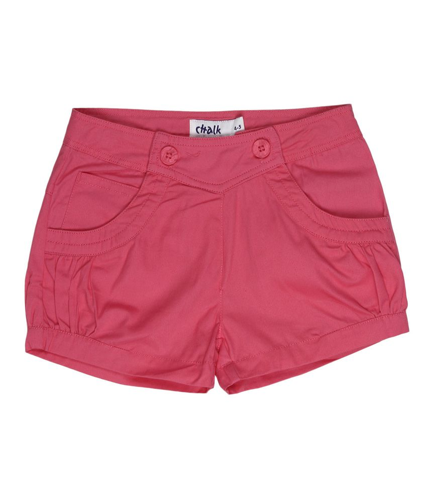 Chalk By Pantaloons Pink Shorts