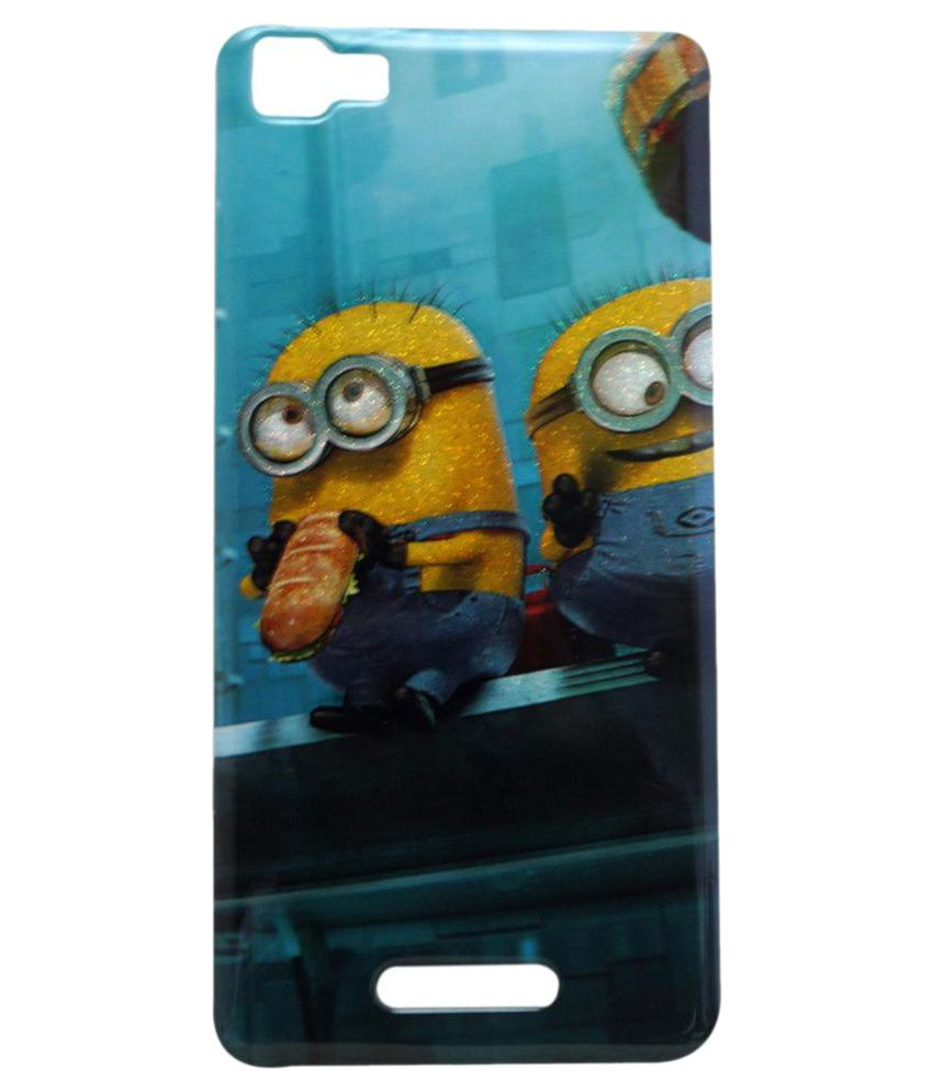 quality design f09b4 d49c6 Geocell Printed Back Cover For Karbonn K9 Smart - Multicolor