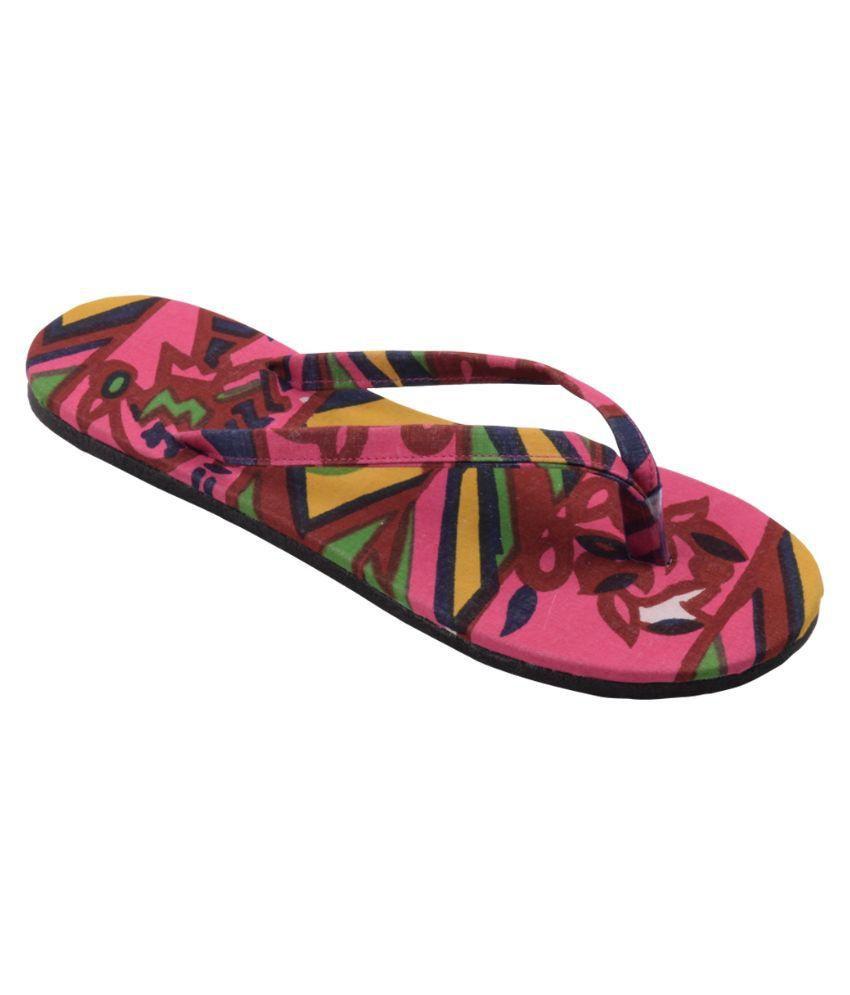 HVE Multi Color Flip Flops