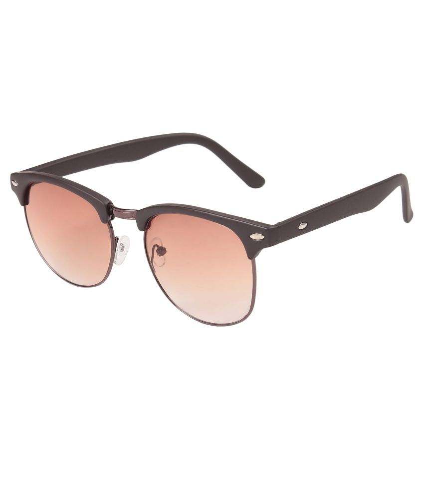 Louis Geneve Brown Clubmaster Sunglasses ( LG-SM-90-BR-BROWN )