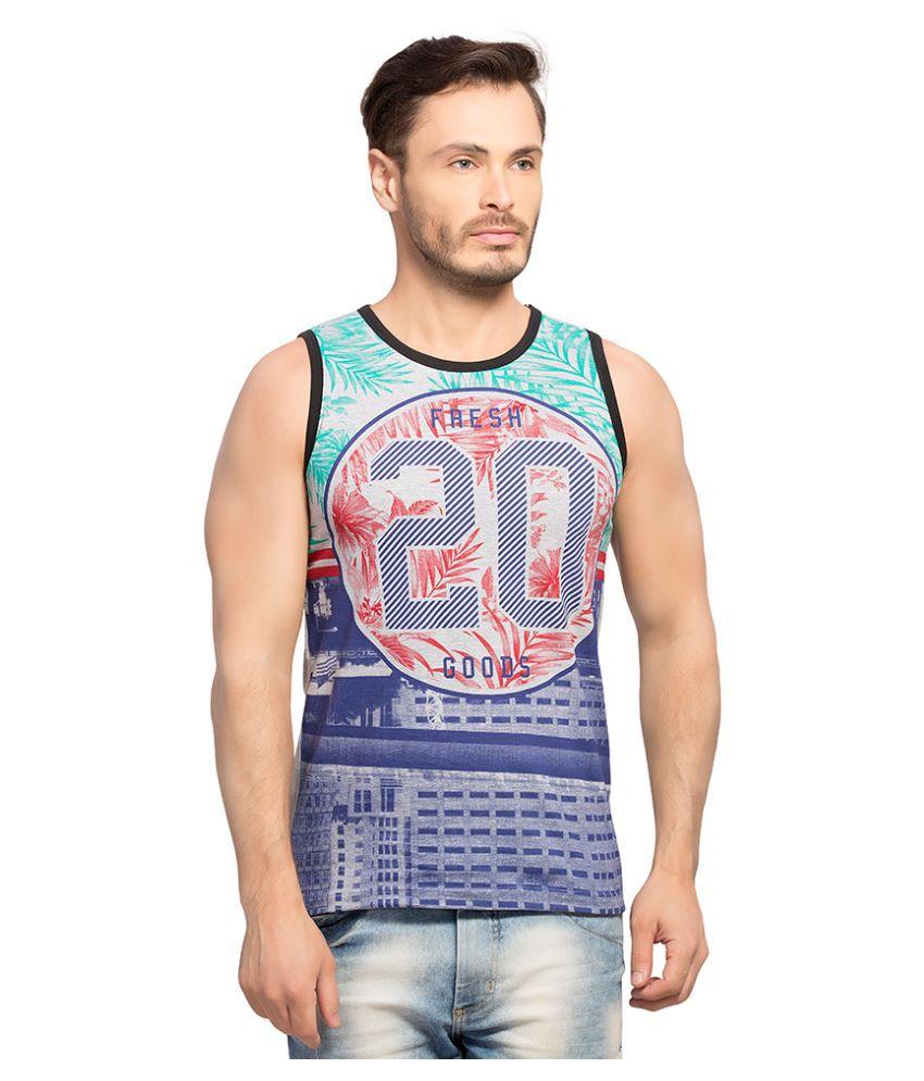 Maniac Multi Round T Shirt