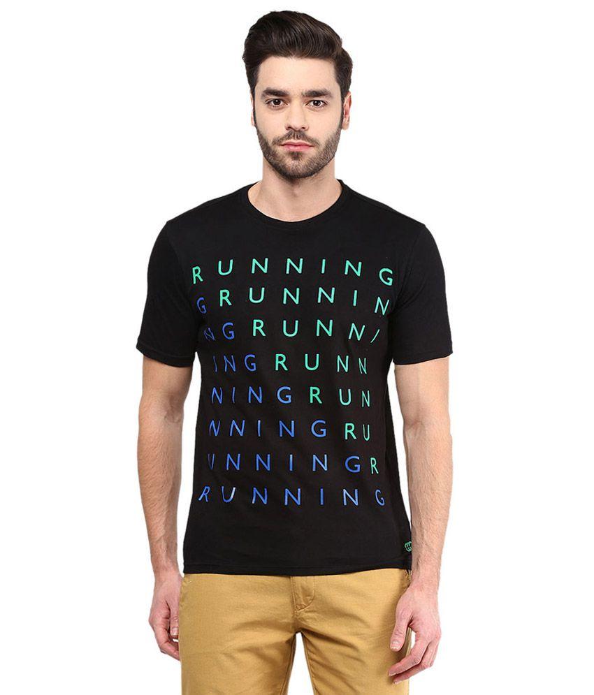 Ajile By Pantaloons Black Round Neck T Shirt