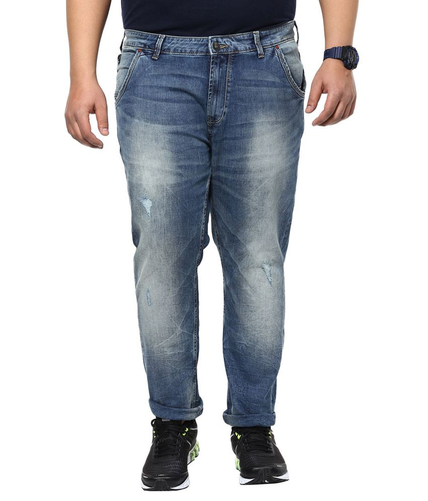 Alto Moda By Pantaloons Blue Slim Fit Jeans