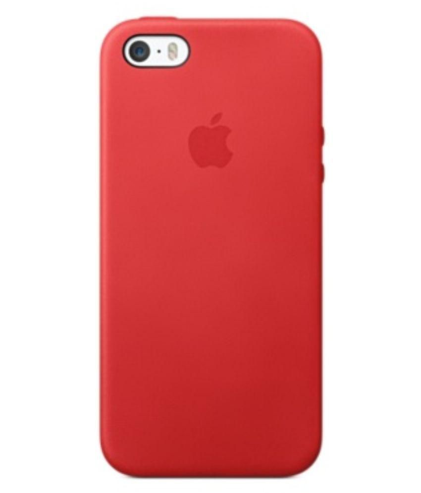 new concept 50c9a dd4be Apple iPhone 5S Back Cover by Mapple - Red