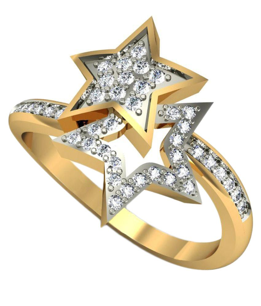 Rasav Jewels Golden Ring