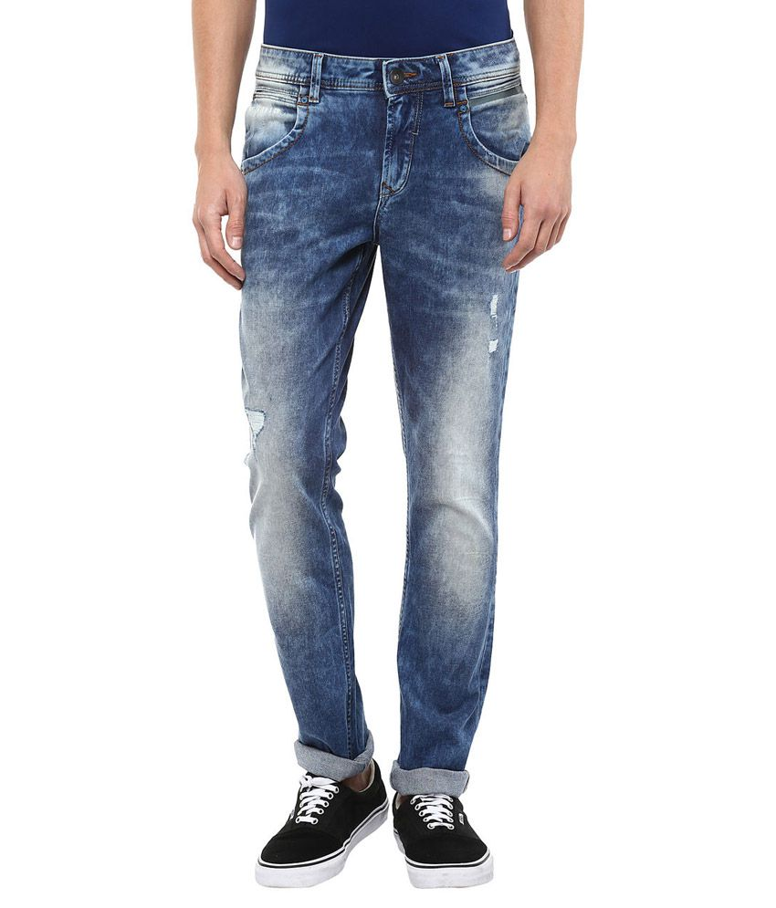 SF Jeans By Pantaloons Blue Slim Fit Jeans