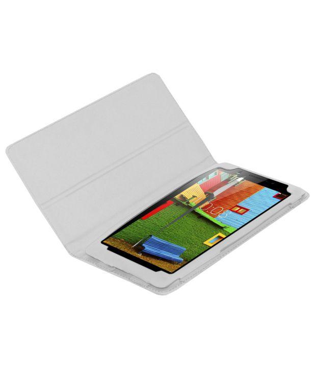 ... Acm Flip Case Cover For Lenovo Phab Plus Cover Stand - White ...