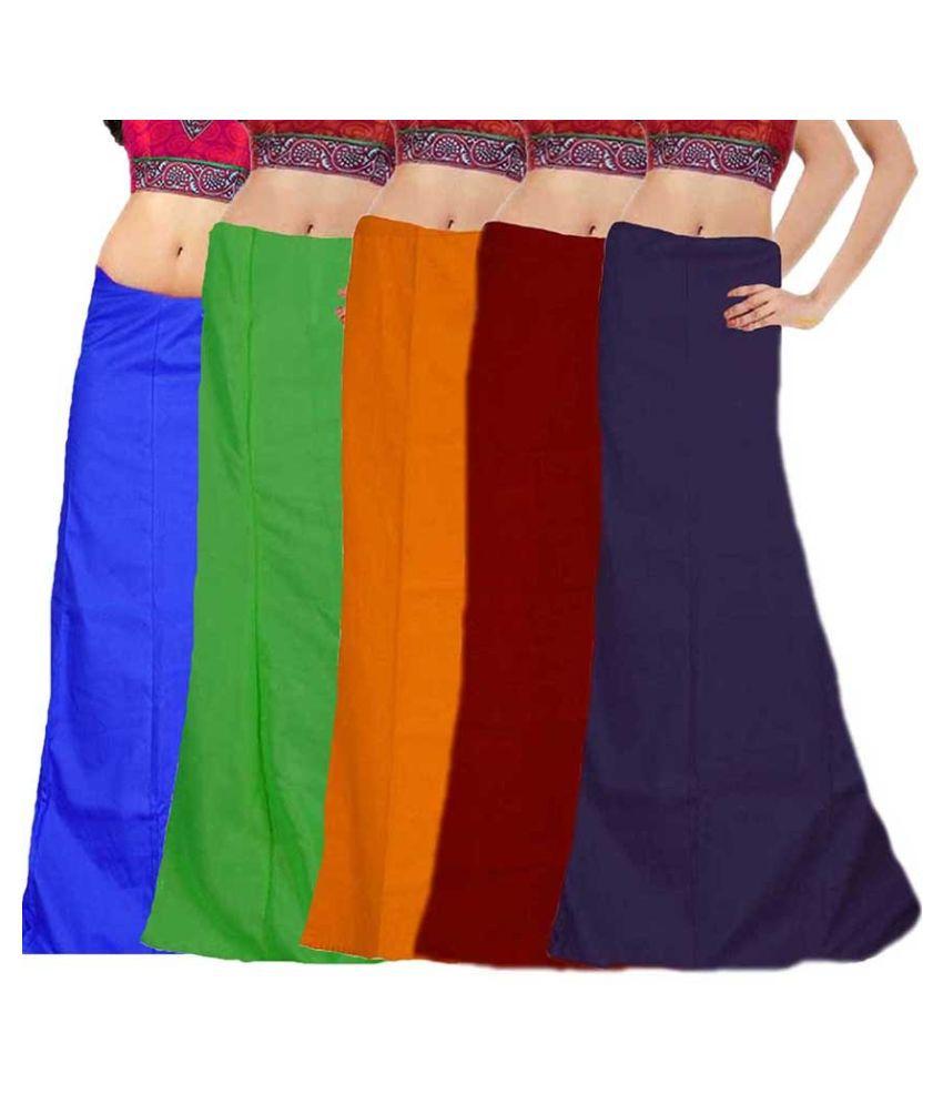 Efashion Multicolored Cotton Petticoats