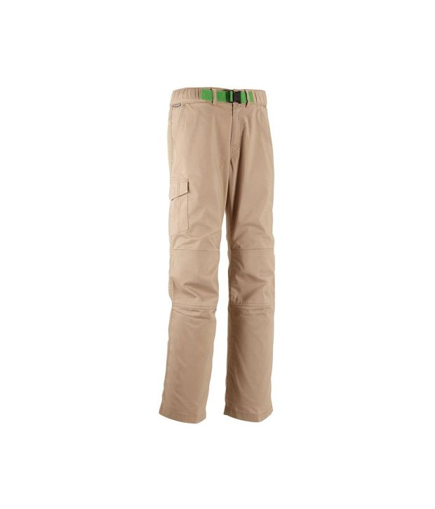 QUECHUA Forclaz 100 Boys Hiking Trousers