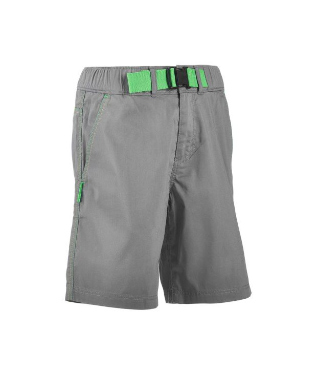 QUECHUA Forclaz 100 Kids Hiking Shorts