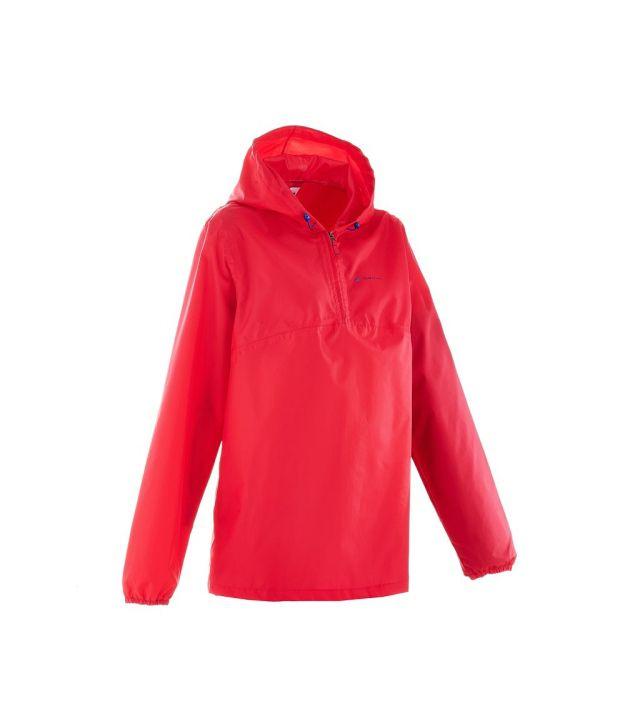 QUECHUA Rain-Cut Women's Hiking Rain Jacket
