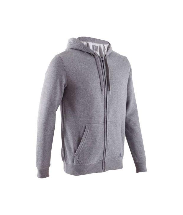 DOMYOS BB Warm Hoody Men's Fitness Jacket