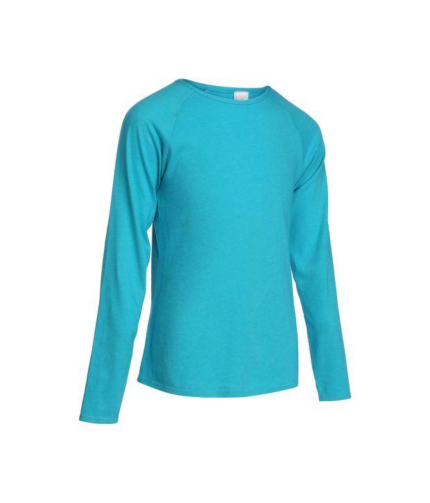 DOMYOS Comfort Girls Fitness Full Sleeve T-Shirt