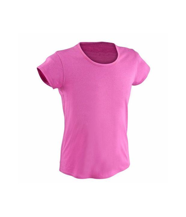 DOMYOS GBP1 Girls Fitness T-Shirt