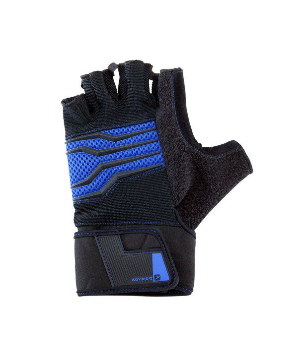 a4867d2b0a8d41 DOMYOS Gloves Body 900 Men's Advanced Strength Training Gloves: Buy ...