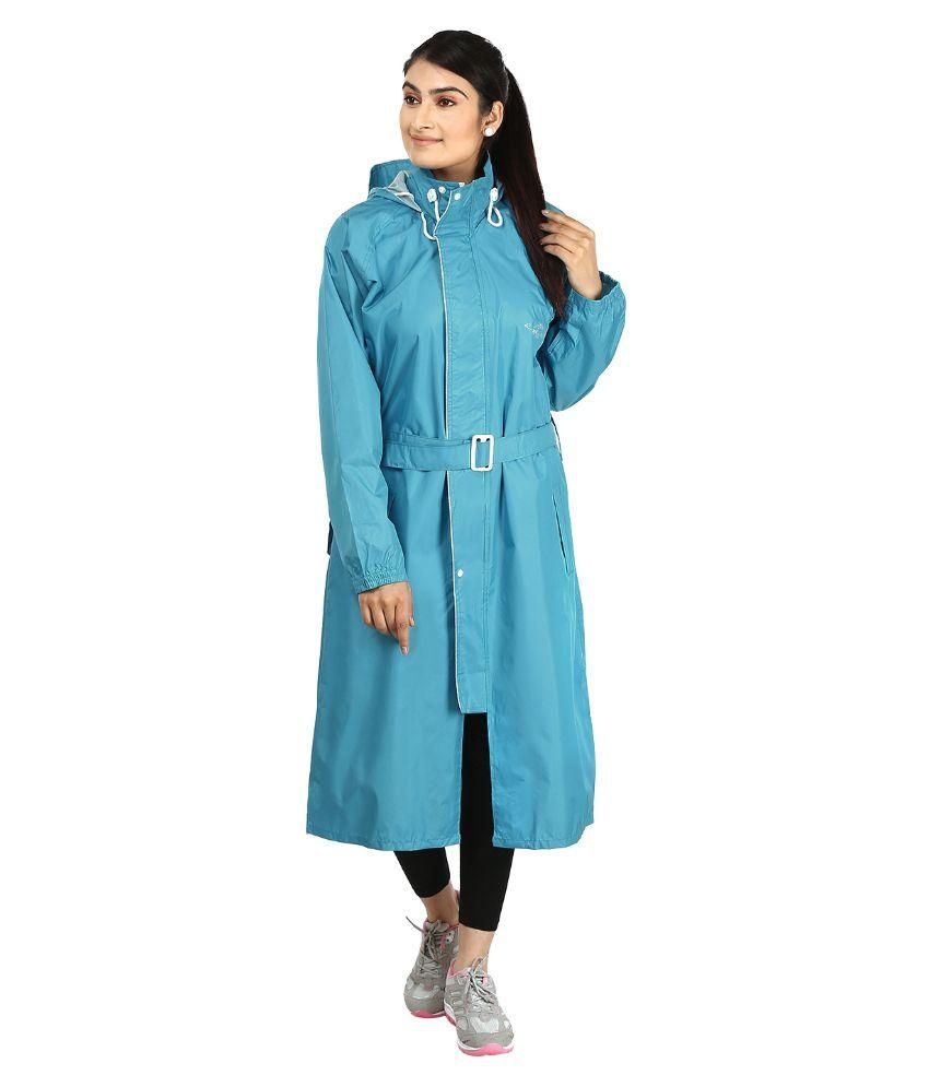Rainfun Solid Girl Raincoat