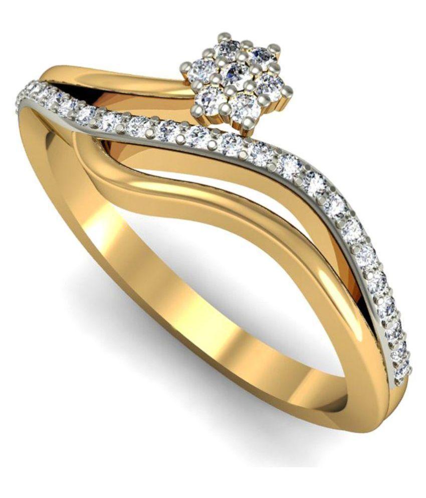 Rasav Jewels 14kt Gold Ring