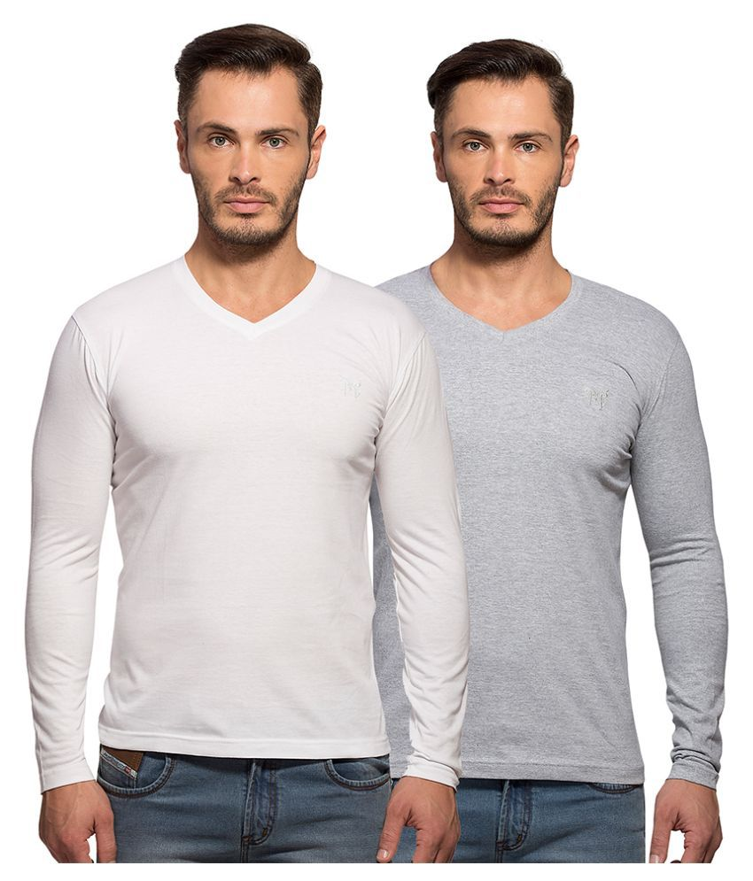 Maniac Multi V-Neck T Shirt