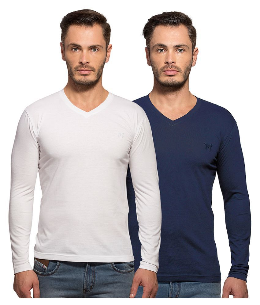 Maniac Multi V-Neck T Shirt