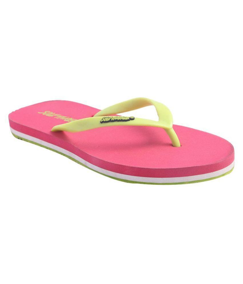 Pantof Pink Flip Flops