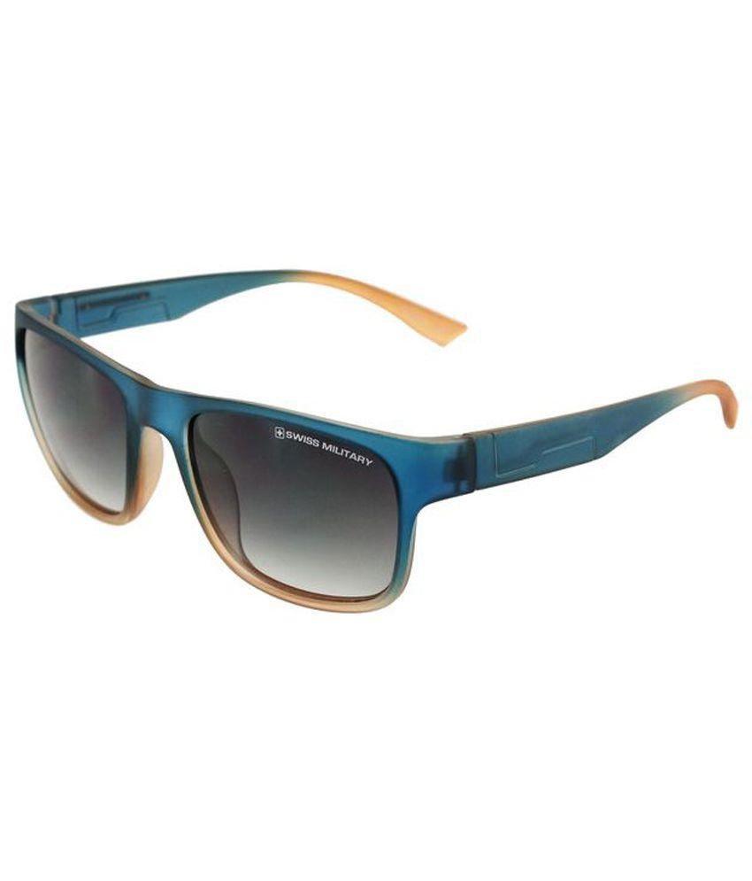 Swiss Military Multicolor Wayfarer Sunglasses ( SUM50 )