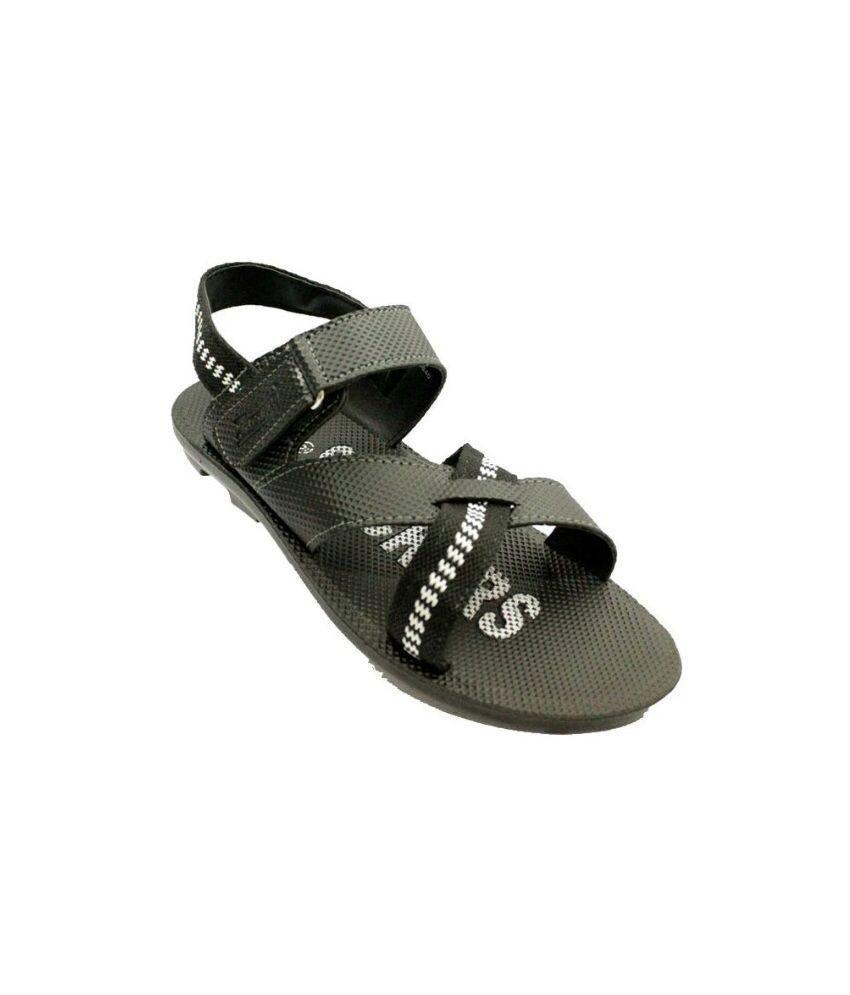 9f952a967fd8e Paragon Black Sandals Price in India- Buy Paragon Black Sandals Online at  Snapdeal