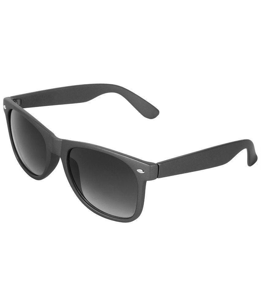 Zyaden Black Wayfarer Sunglasses ( WAY-02 )