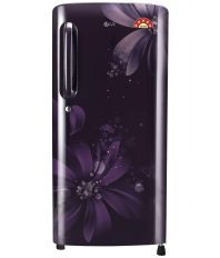 LG 215 Ltr 5 Star GL-B221APAN Single Door Refrigerator - Purple Aster