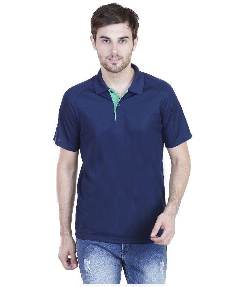 Adidas Navy Round T Shirt