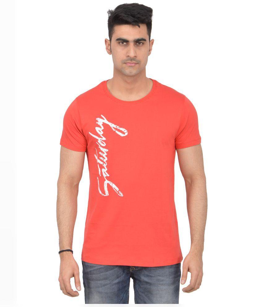 Grapefruit Florida Orange Round T Shirt