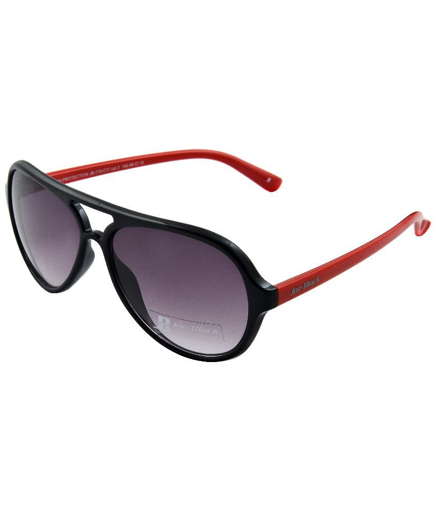 Joe Black Purple Pilot Sunglasses ( JB-710-C11 )