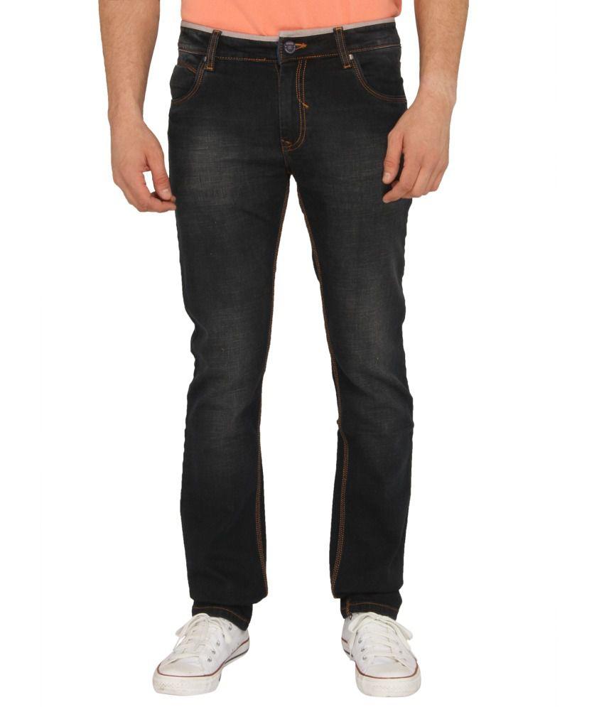 Donear NXG Blue Slim Fit Faded Jeans