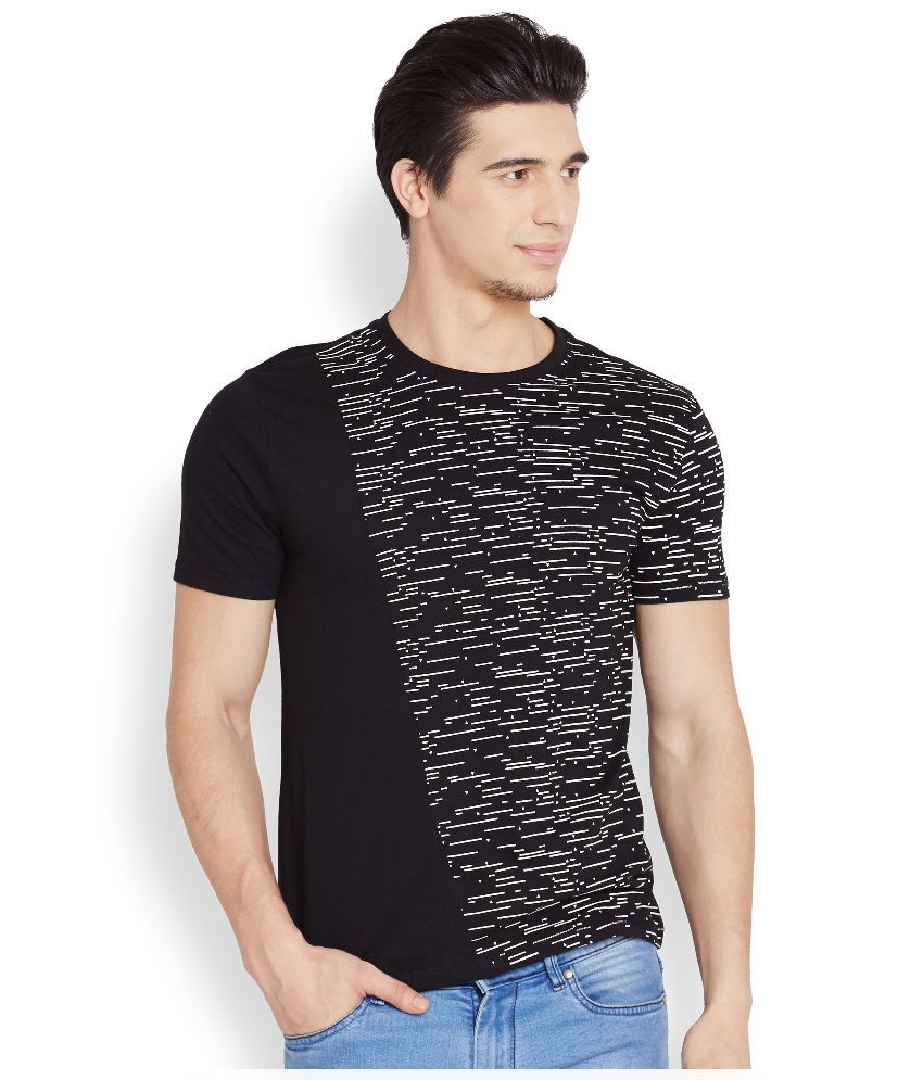 Henry and Smith Black Round T Shirt