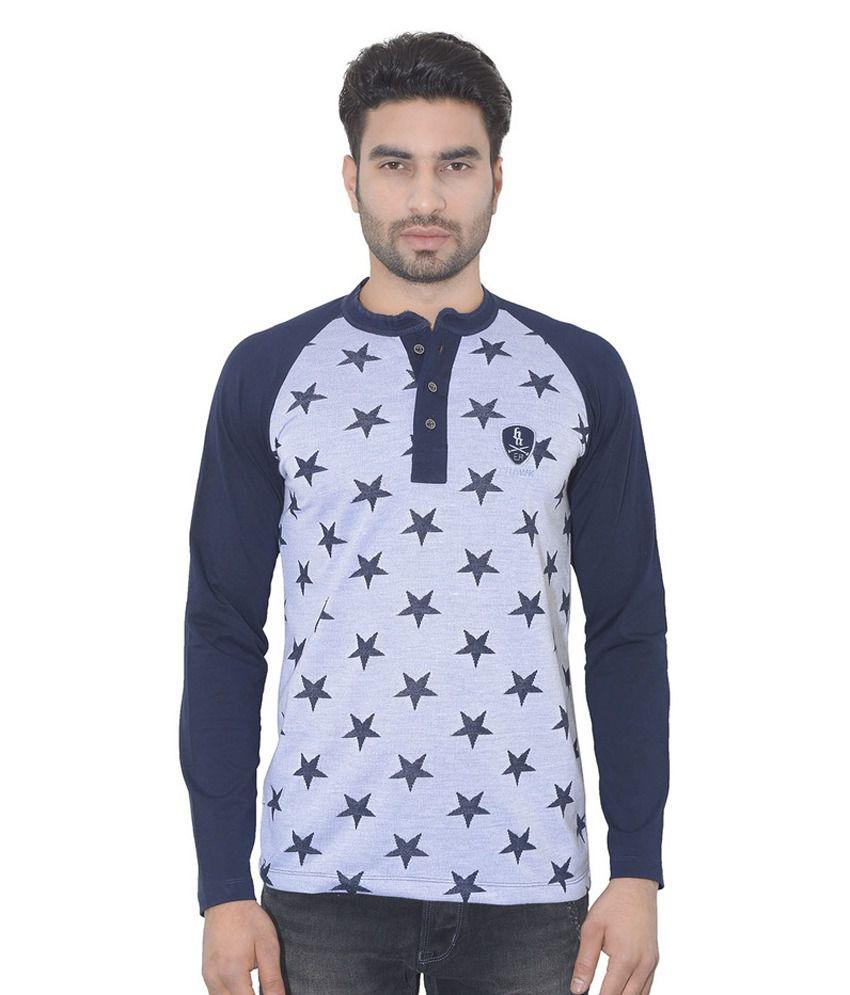 Ecohawk Grey Round T Shirt