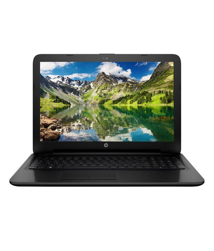 HP 15-AC170TU Notebook (P6L83PA) (5th Gen Intel Core i3- 4 GB RAM- 500 GB HDD- 39.62 cm (15.6)- DOS) (Black)