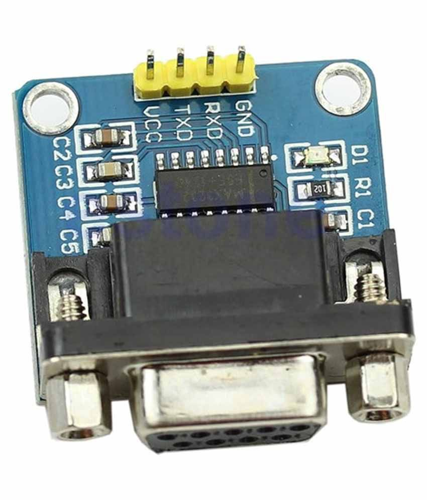 Xcluma Rs232 Max3232 Serial Port To Ttl Converter Module Dupont Pic Programmer Cable