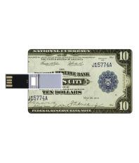 Youberry Credit Card Design 8 GB Pen Drives Multicolor