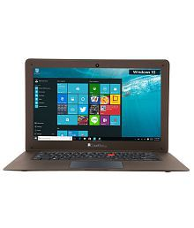 iBall CompBook- Exemplaire Notebook (Intel Atom- 2GB RAM- 32 GB eMMC- 35.56 cm (14)- Windows 10) (Brown)