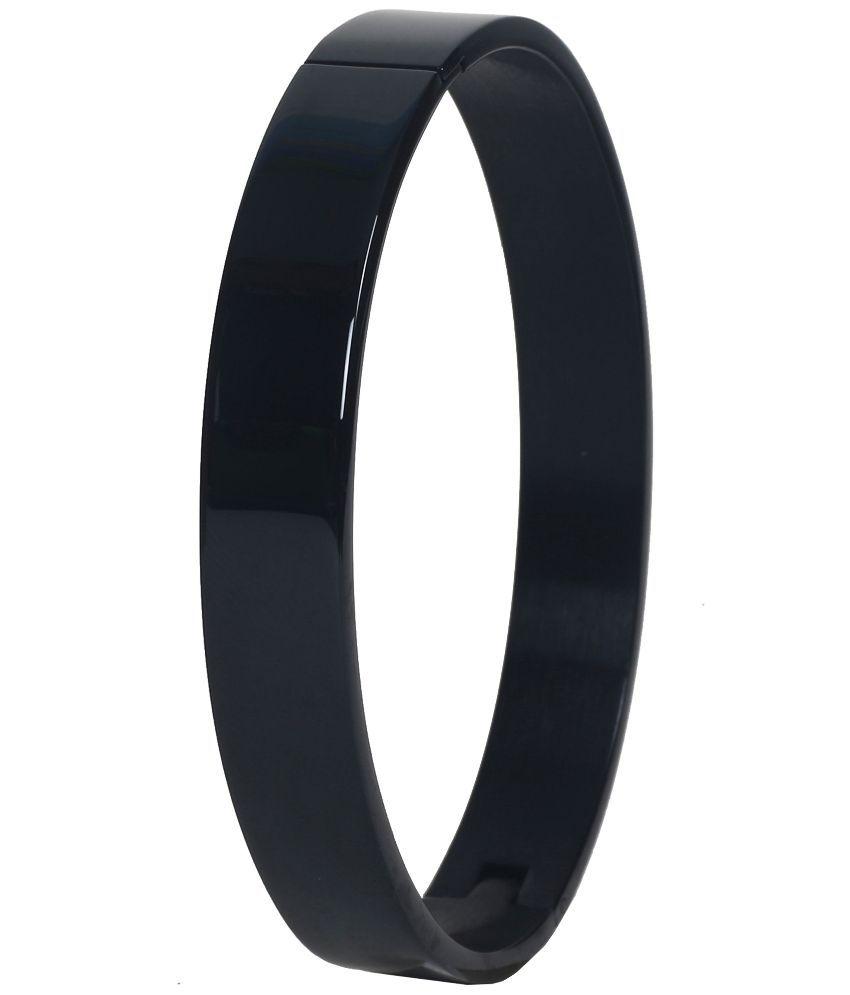 Handluv Black Stainless Steel Bracelet
